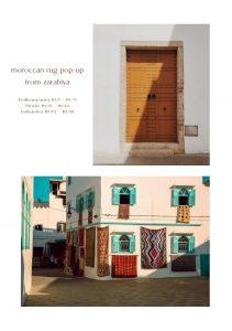 "<Moroccan rug ""Zarabiya""  POP-UP at Life's>"